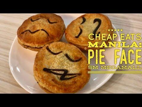 Cheap Eats Manila: Pie Face Australian Bakery Savory Meat Pies SM Megamall Manila