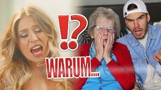 Meine OMA REAGIERT auf Bibi H - How it is (wap bap) 😂