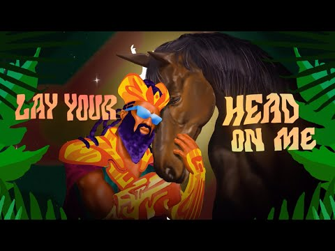 Major Lazer - Lay Your Head On Me (feat. Marcus Mumford) (Official Lyric Video)