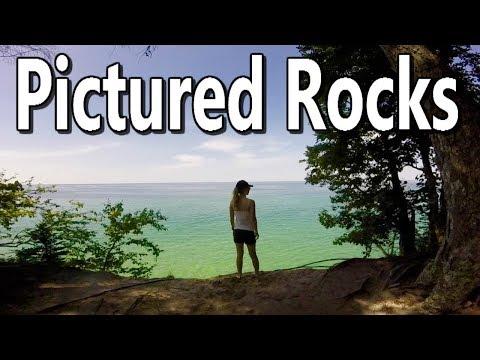 A Trip to Pictured Rocks - Munising, Michigan