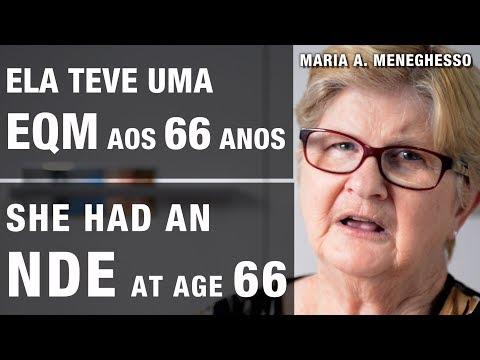 EQM | NDE - Ela viu os pais, marido e irmã | She met her parents, husband and sister