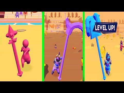 Spear.io 3D Trailer- Gameplay Walkthrough (Android, IOS Game)