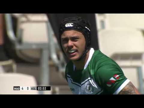 Replay | New Zealand Maori vs England Community Lions