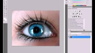 (Tutorial) #5: Как изменить цвет глаз в программе Adobe Photoshop