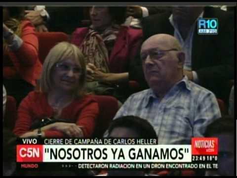 C5N - ELECCION 2015: CIERRE DE CAMPAÑA DE CARLOS HELLER