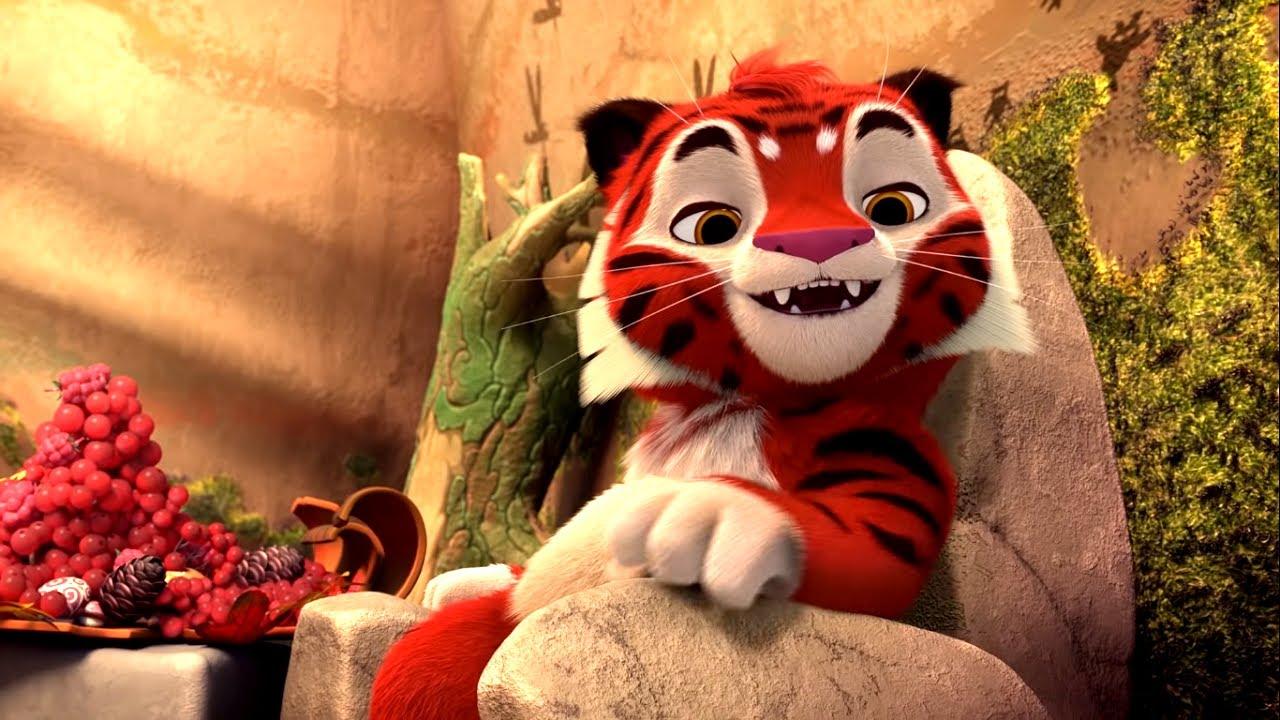 Все серии про самые увлекательные приключения Тигренка Тига – сборник -   Про животных - Лео и Тиг