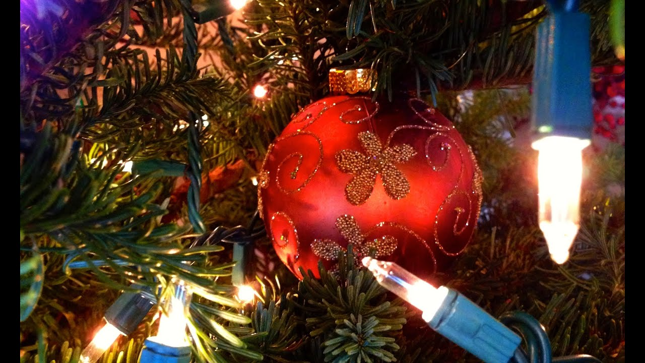 How To Decorate / Trim Your Christmas Tree DIY Holiday