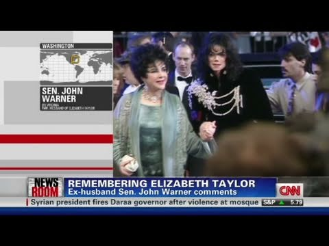 CNN: Ex-husband, Senator John Warner remembers Elizabeth Taylor