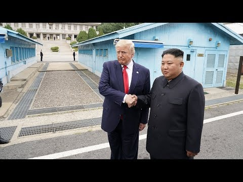 Special Report: Trump meets North Korea's Kim Jong Un in the DMZ
