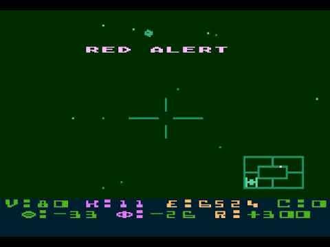 Star Raiders Atari 8 Bit |