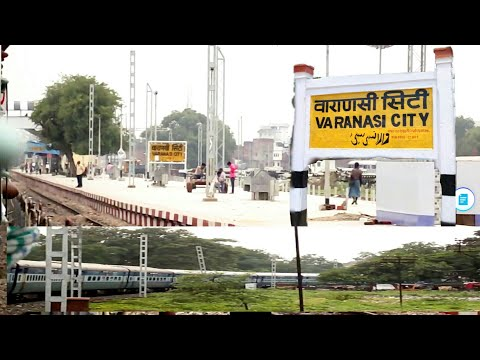 Grand Arrival at VARANASI CITY | Onboard KRISHAK EXPRESS Taking Huge Curves on Single Line Section..