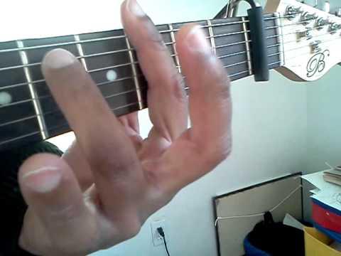 Gm Guitar Chord - YouTube