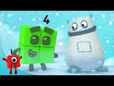 Numberblocks - Winter Wonderland | Learn to Count | Learning Blocks | #Christmas