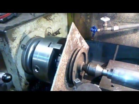 Обработка листового материала на токарном станке
