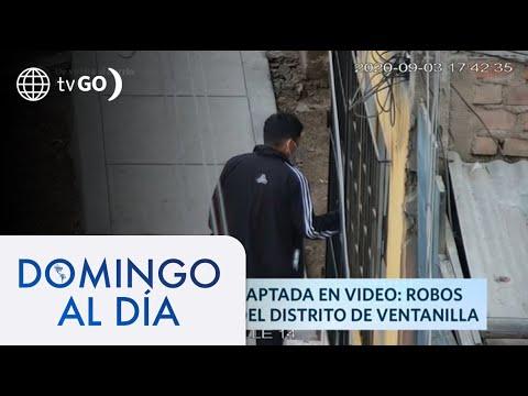 Robos se apoderan del distrito de Ventanilla   Domingo al Día