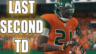 Rivalry Game! Game Winning Touchdown? Dre Moss Road To Glory NCAA FOOTBALL 14