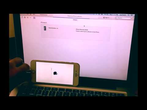 How to factory reset an iphone without password
