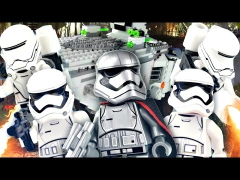 """LEGO Star Wars : The Force Awakens - 75103 """"First Order Transporter"""" Review"""