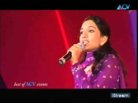 Manjari sings Arabic Song - Best of ACV
