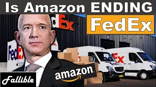 is FedEx Going Bankrupt Because Of Amazon?  FDX AMZN Stock Analysis