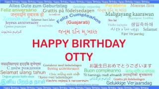 Otty   Languages Idiomas - Happy Birthday