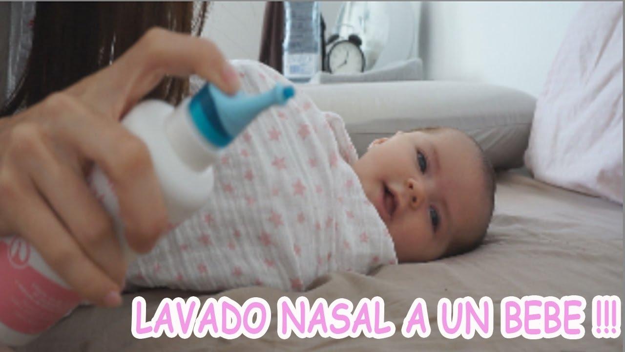 Como hacer un lavado nasal a un bebe youtube - Como banar a un bebe ...