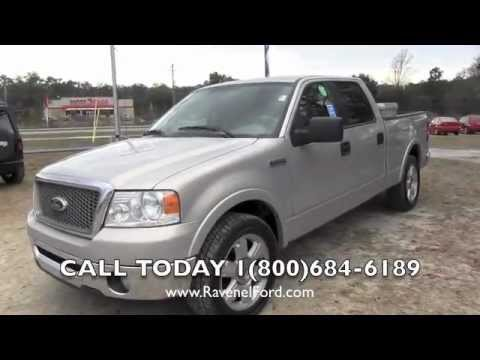 2006 ford f 150 lariat supercrew review charleston truck videos for sale ravenel ford. Black Bedroom Furniture Sets. Home Design Ideas