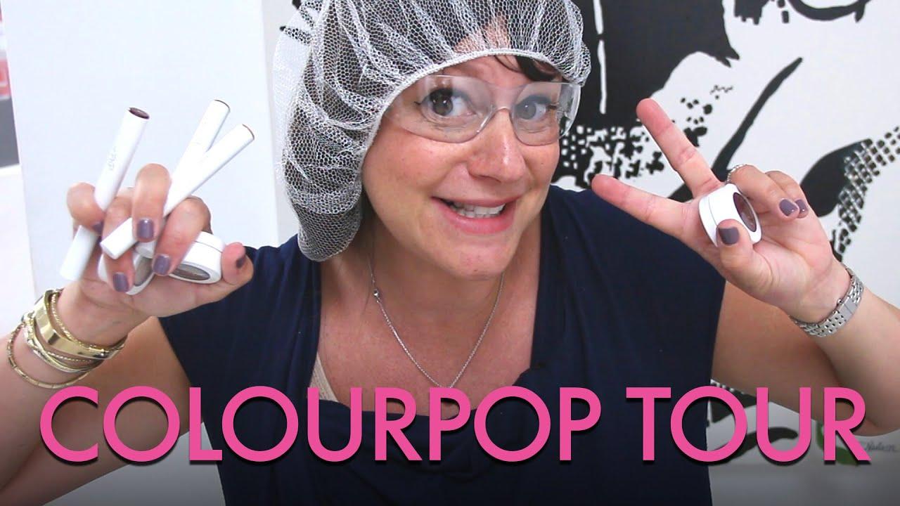 Exclusive Tour of the ColourPop Makeup Factory | Jamie Greenberg Makeup