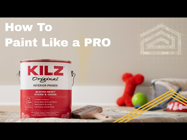 Tips on How To Paint Like a Pro with Shadi of KILZ, a BEHR Paint Company