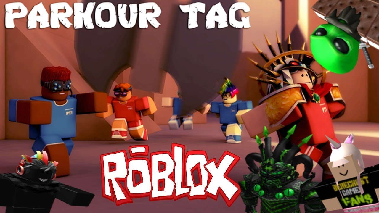 WALL RUNNERS | PARKOUR TAG | ROBLOX - YouTube