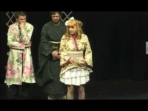Jennie Jacobs as Pitti-Sing performs 'The Criminal Cried' in The Mikado