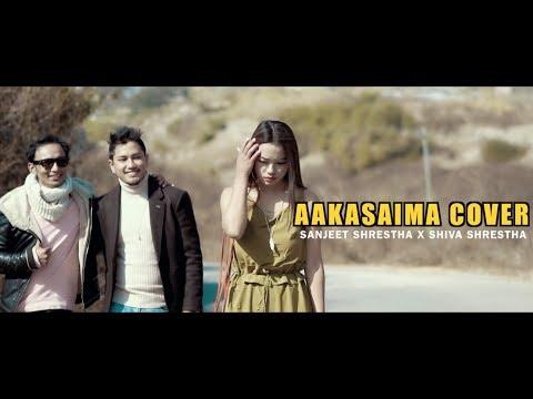 Aakasaima Chil Udyo Fanana Cover || Sanjeet Shrestha X Shiva Shrestha || GLOOMY GUYS ||