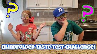 Blindfolded Taste Test Challenge!