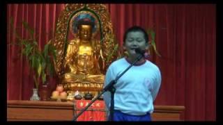 第 61 屆香港學校朗誦節 小學五、六年級 英文獨誦 季軍 李家豪同學(5A班)