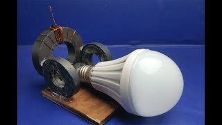 Free Energy - how to make free energy 100% - simple at home 2018