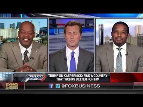 Jay Morrison on FOX NEWS- Kaepernick Anthem Protest Draws Heated Debate Over Race!