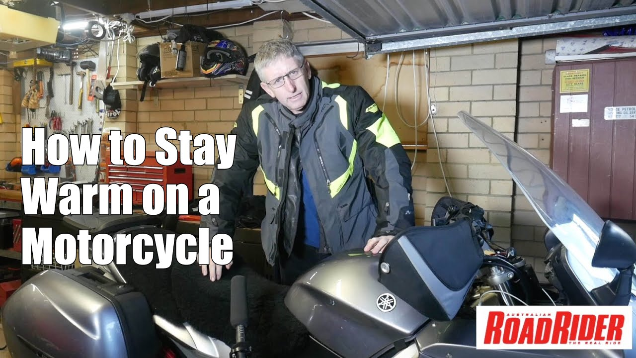 How to Stay Warm on a  Motorcycle