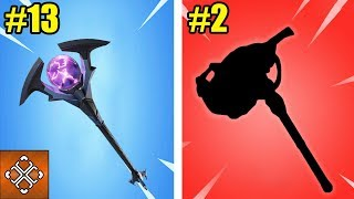 13 Rarest Fortnite Pickaxes You'll Never Get Your Hands On