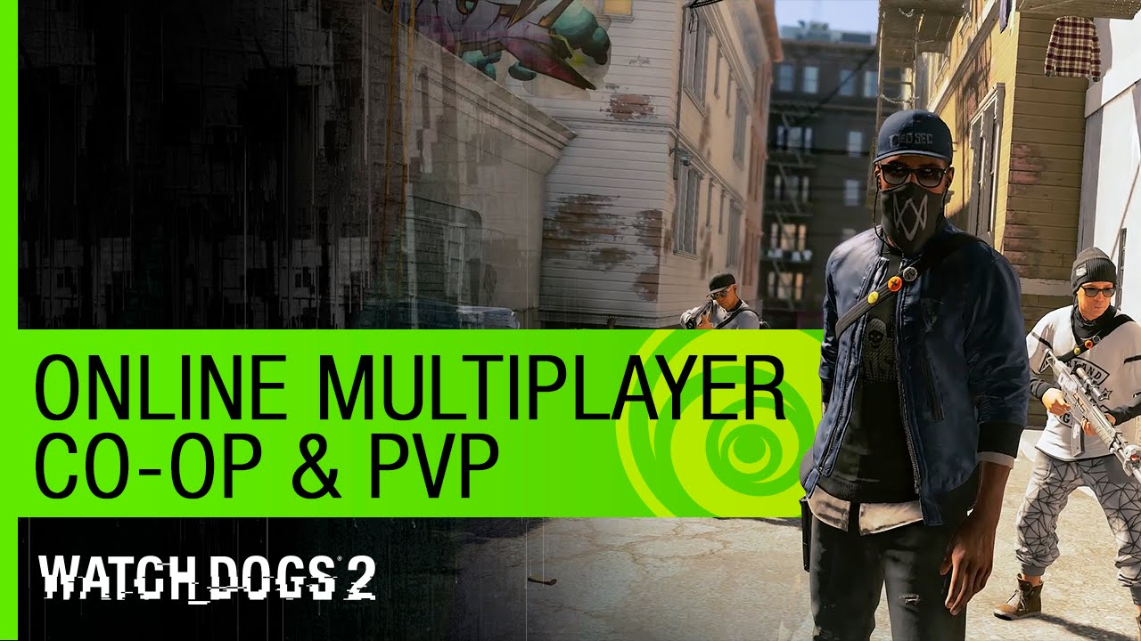 Watch Dogs  Coop Gameplay