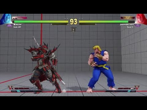 SFV:AE - JonesArcade this Ken has got the Eye of the Tiger (highlights) edition!!