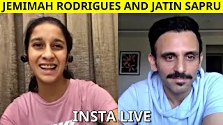 Watch Jemimah Rodrigues funny interview with Jatin Sapru | Part 1