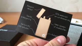 Cross Lighter Unboxing  & Testen