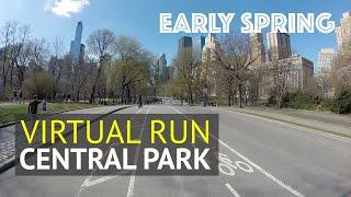 Central Park Virtual Run: Great Treadmill Running & Walking Scenery in the Popular NYC Park