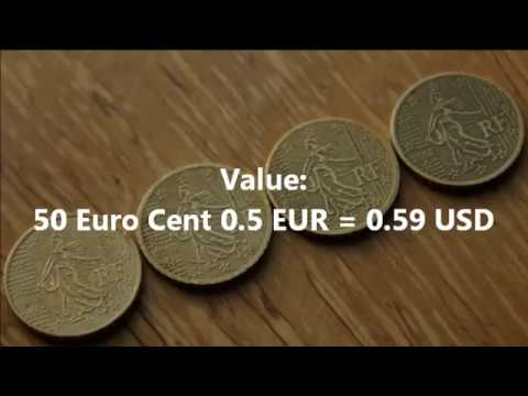 50 Euro Cent 1999 2000 2001 2002 France
