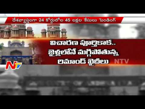 43Lakh Cases Pending At High Courts | Allahabad | NTV