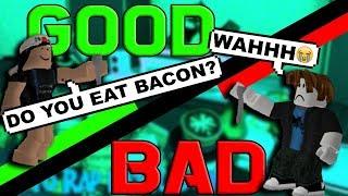 GOOD VS BAD GRAMMAR RAPPING! | DOES IT MATTER? (ROBLOX SOCIAL EXPERIMENT)