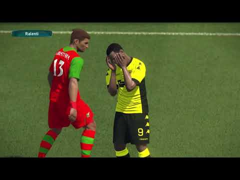 PS4 PES 2017 Gameplay ASEC Mimosas vs Africa Sport HD