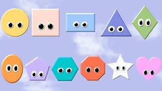 what shape is it basic shapes the kids picture show fun educational learning video