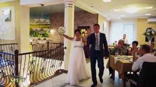 Свадебный клип в кафе
