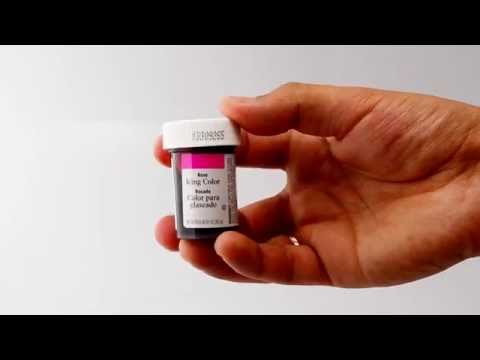 Wilton Icing Colors Rose 1 oz (28.3 g) - YouTube